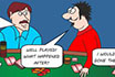 Poker Cartoon - Poker Friends