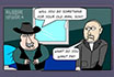 Poker Cartoon - Funeral