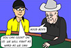 Poker Cartoon - Doyle Brunson