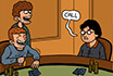 Poker Cartoon - Harry Potter