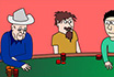 Poker Cartoon - Eyes