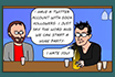 Poker Cartoon - Compagno di bevute