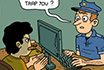 Pokerowy Komiks - Policja