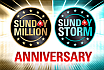 Uczcij kolejny rok z Sunday Million i Sunday Storm