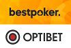 Neue Partnerräume: BestPoker und Optibet