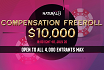 $10,000 Compensation Freeroll at Natural8
