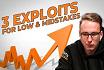 Trzy exploity dla low i mid stakes MTT od bencb