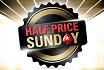 Heute: Sunday Million erneut zum halben Preis