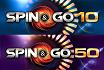 Bis zu $500 für die ersten 10 Spin & Gos des Tages
