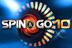 Bis zu $1.000 für die ersten 10 Spin & Gos des Tages
