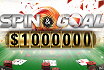 Win free bets with Spin & Goal at PokerStars