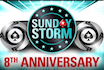 The 8th Anniversary Sunday Storm guarantees $1 million