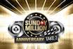 Sunday Million Take 2 crusht die $10-Millionen-Garantie
