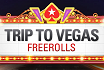 Win a trip to Vegas with daily freerolls at PokerStars
